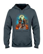 Dachshund Halloween Hooded Sweatshirt front