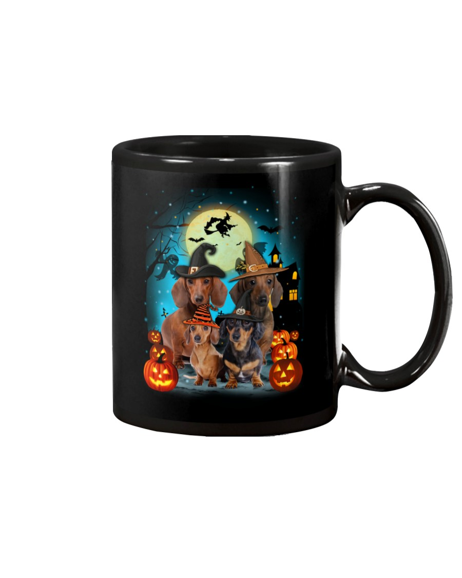 Dachshund Halloween Mug