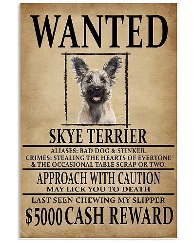Skye Terrier Wanted Poster 2201