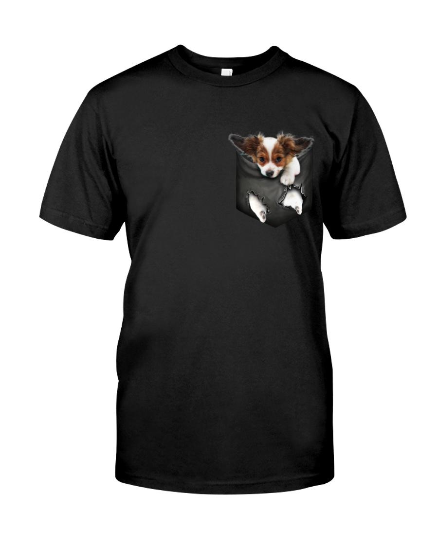 Papillon Pocket 4 Classic T-Shirt