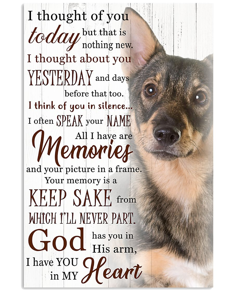 Swedish Vallhund I Have You Poster 1501  11x17 Poster