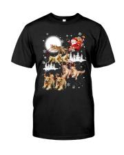 Golden Retriever Reindeers Classic T-Shirt thumbnail
