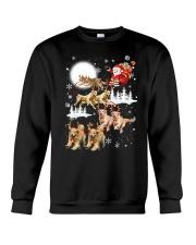 Golden Retriever Reindeers Crewneck Sweatshirt thumbnail