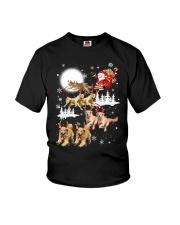 Golden Retriever Reindeers Youth T-Shirt thumbnail
