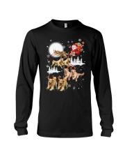 Golden Retriever Reindeers Long Sleeve Tee thumbnail