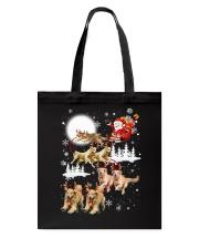 Golden Retriever Reindeers Tote Bag thumbnail