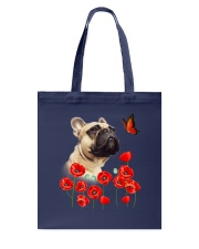 French Bulldog And Flowers Tote Bag thumbnail
