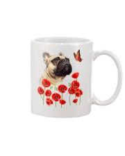 French Bulldog And Flowers Mug thumbnail