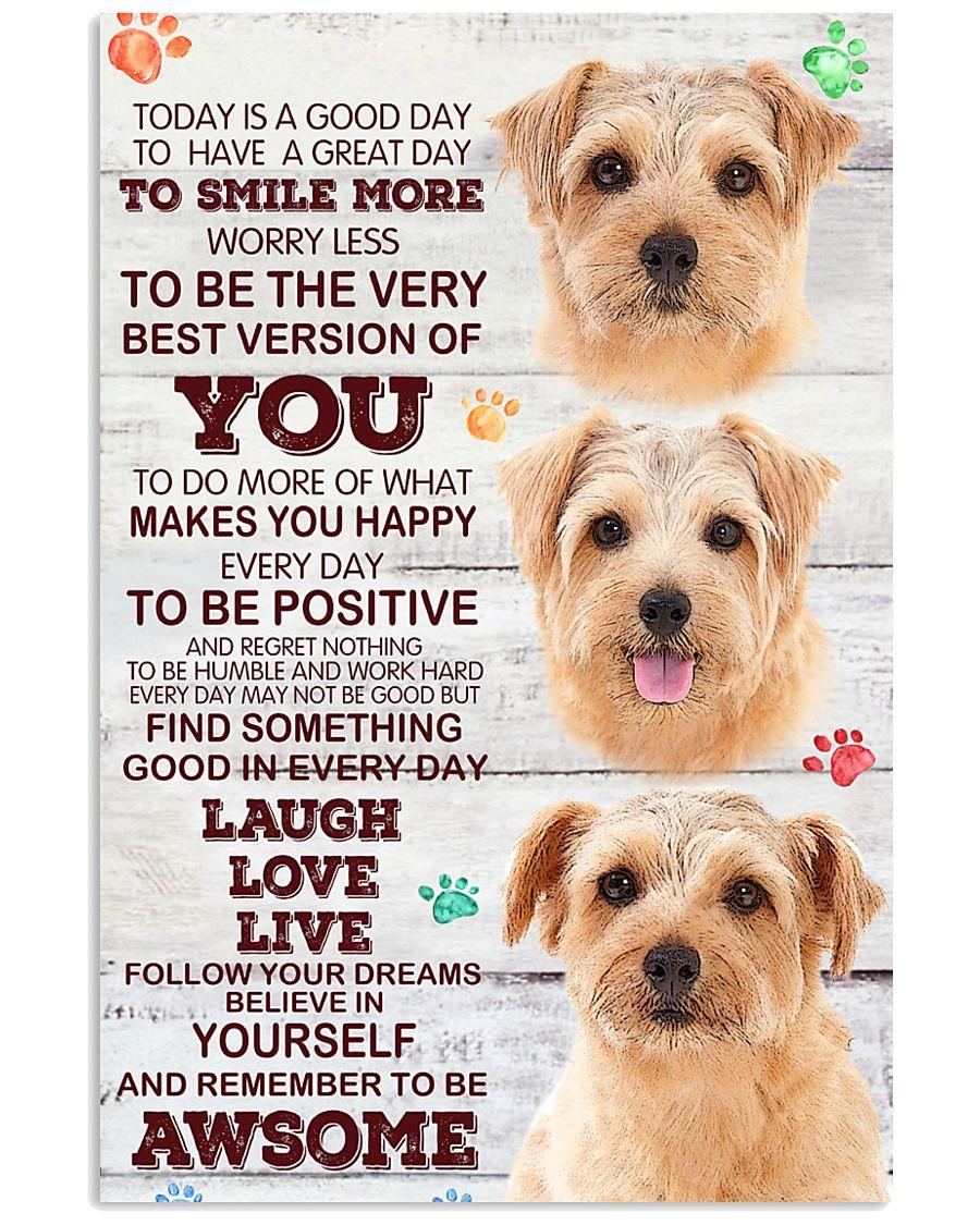 Norfolk Terrier Smile More Poster 2801 11x17 Poster