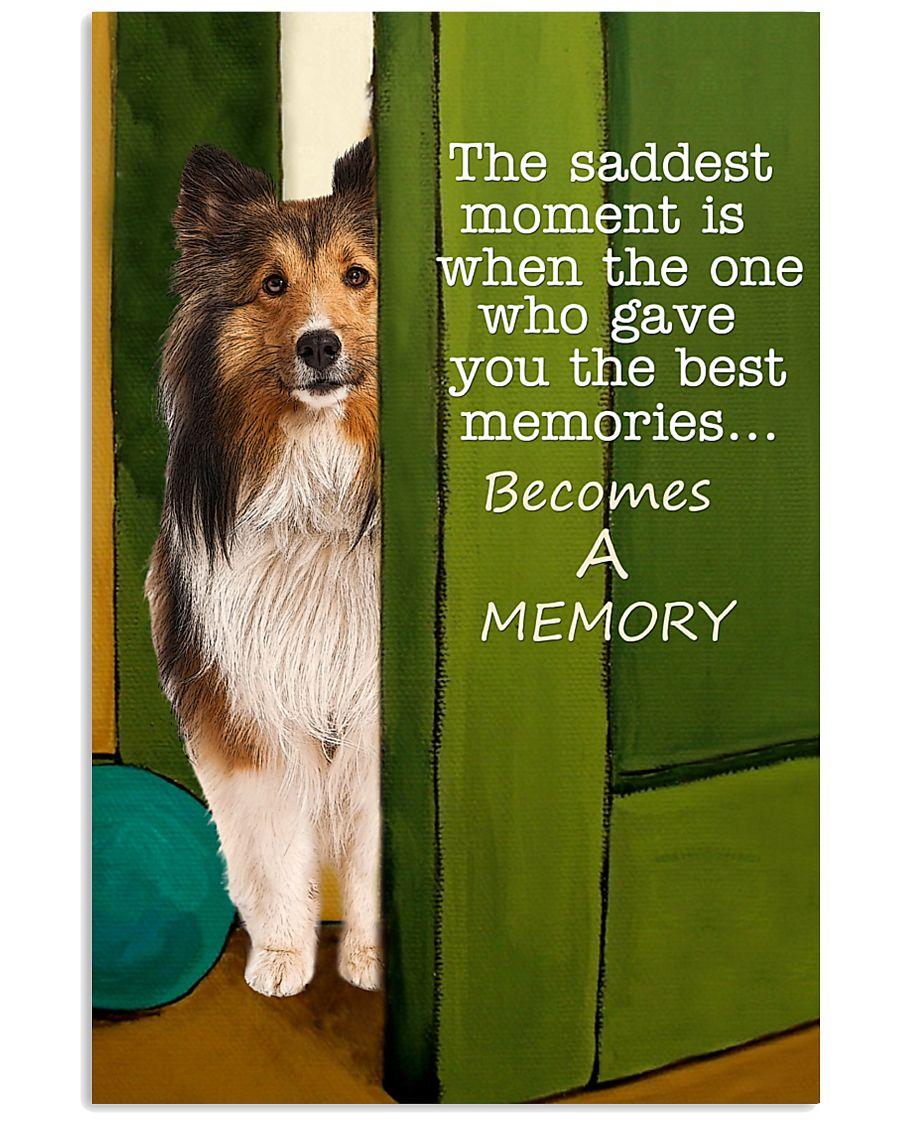 Shetland Sheepdog Memory 11x17 Poster