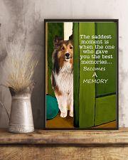 Shetland Sheepdog Memory 11x17 Poster lifestyle-poster-3