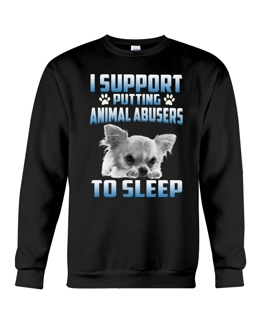 SUPPORT CHIHUAHUA 1604  Crewneck Sweatshirt