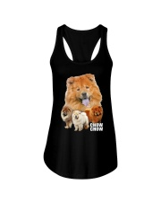 Chow Chow Awesome Family 0701 Ladies Flowy Tank thumbnail