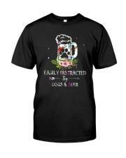 Beer and Dog 0410 Classic T-Shirt thumbnail