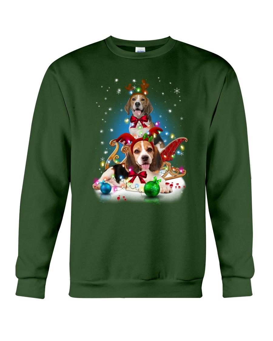 Beagle Merry Chritsmas Crewneck Sweatshirt