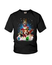 Beagle Merry Chritsmas Youth T-Shirt thumbnail