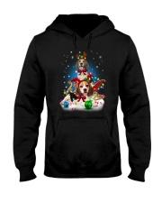 Beagle Merry Chritsmas Hooded Sweatshirt thumbnail