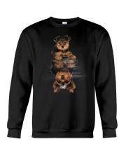 Yorkshire Terrier In Dream Crewneck Sweatshirt front