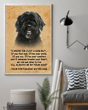 Portuguese Water I Know Im Just A Dog Poster 1401  11x17 Poster lifestyle-poster-1
