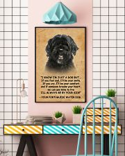 Portuguese Water I Know Im Just A Dog Poster 1401  11x17 Poster lifestyle-poster-6