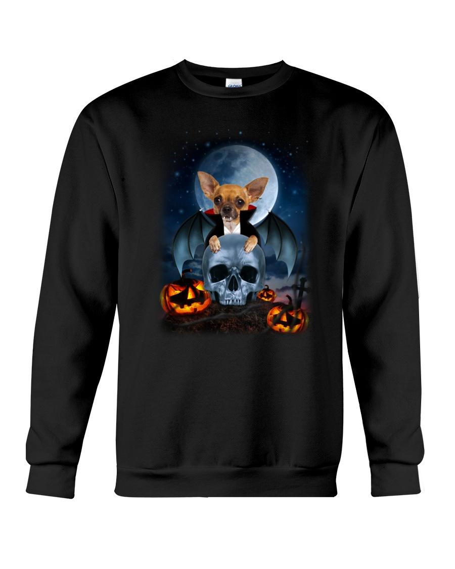 Chihuahua Devil 2208 Crewneck Sweatshirt