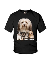 Havanese Awesome Family 0701 Youth T-Shirt thumbnail