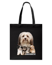 Havanese Awesome Family 0701 Tote Bag thumbnail