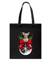 Chihuahua Snow Tote Bag tile