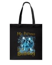 Bulldog Patronus Tote Bag thumbnail