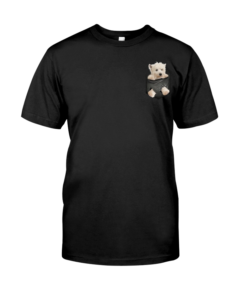 West Highland White Terrier Pocket 3 Classic T-Shirt