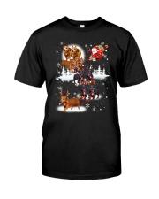 Reindeer New Dachshund Classic T-Shirt thumbnail