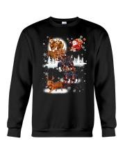 Reindeer New Dachshund Crewneck Sweatshirt tile