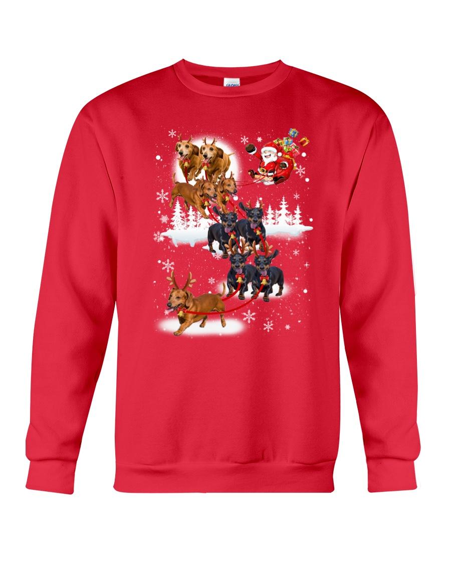 Reindeer New Dachshund Crewneck Sweatshirt
