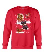 Reindeer New Dachshund Crewneck Sweatshirt front