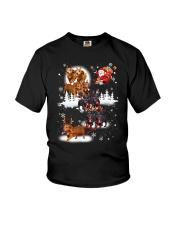 Reindeer New Dachshund Youth T-Shirt thumbnail