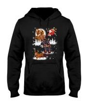 Reindeer New Dachshund Hooded Sweatshirt thumbnail