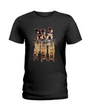 German Shepherd Dreaming  Ladies T-Shirt thumbnail