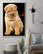 Shar Pei Rose 11x17 Poster lifestyle-poster-1