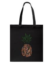 Dachshund Pineapple Tote Bag thumbnail