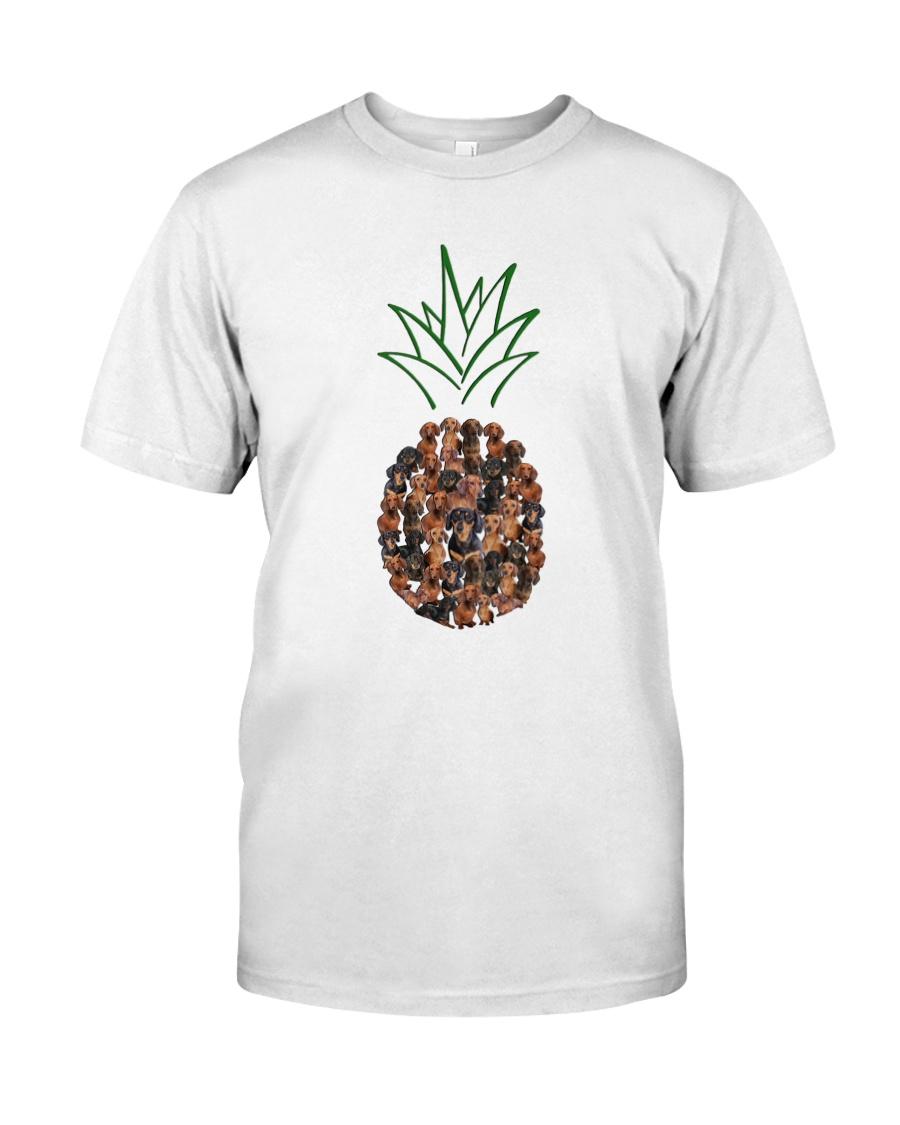 Dachshund Pineapple Classic T-Shirt