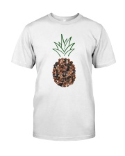 Dachshund Pineapple Classic T-Shirt front