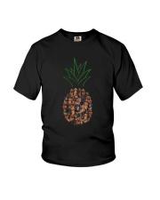 Dachshund Pineapple Youth T-Shirt thumbnail