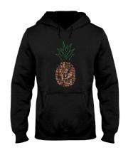 Dachshund Pineapple Hooded Sweatshirt thumbnail