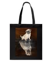 Pug Reflection Mug 1412 Tote Bag thumbnail