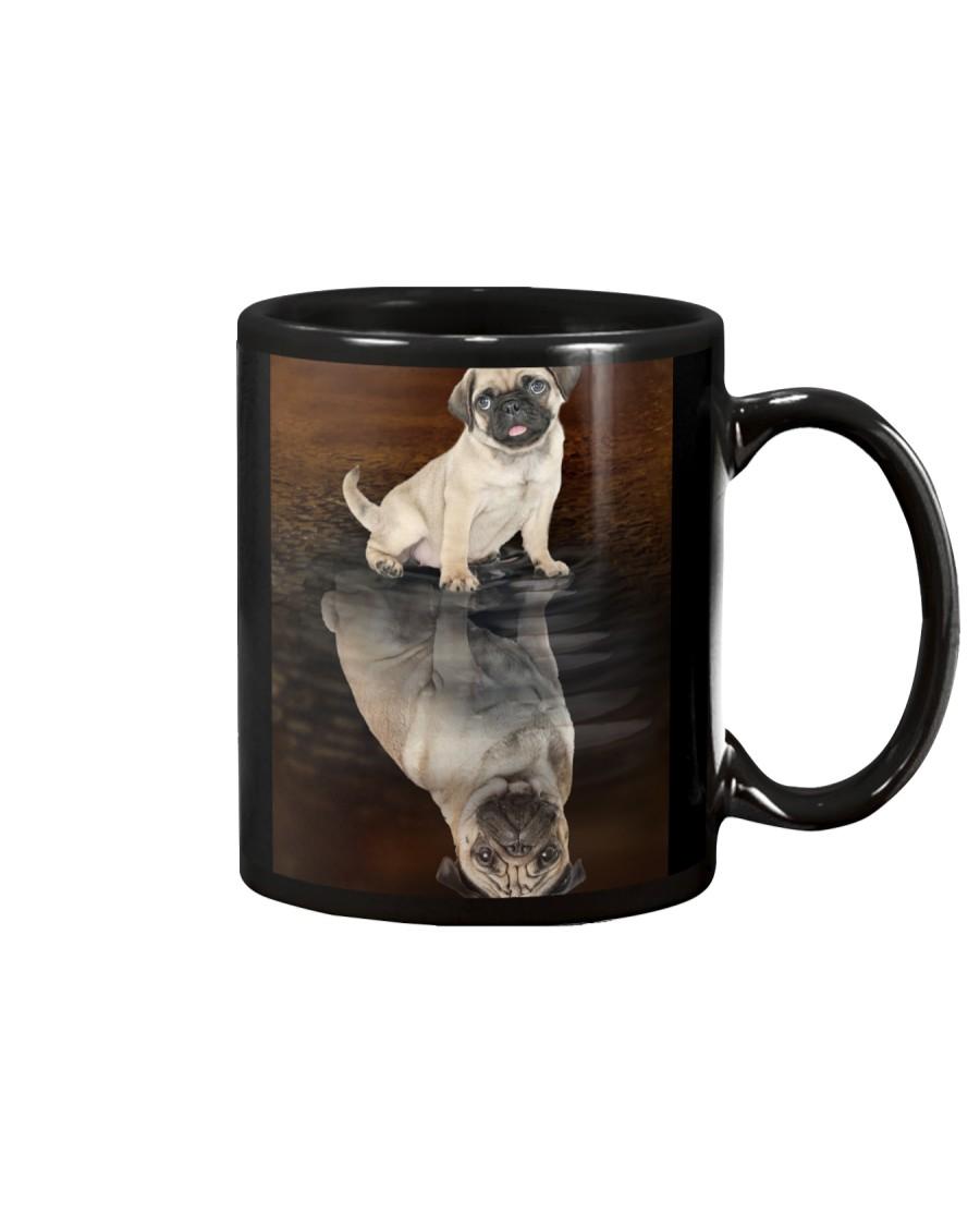 Pug Reflection Mug 1412 Mug