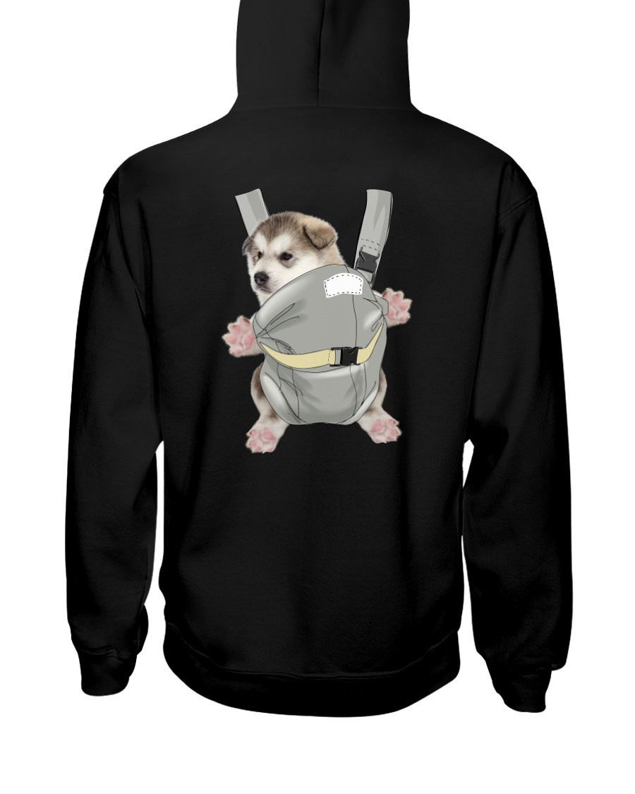 Siberian Husky Bag 1012 Hooded Sweatshirt