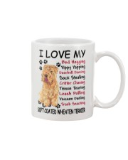 Soft Coated Wheaten Terrier Bed Hogging 3001 Mug front