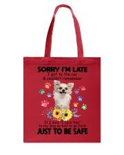 Chihuahua safe 0410 Tote Bag thumbnail