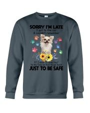 Chihuahua safe 0410 Crewneck Sweatshirt thumbnail