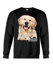 Golden Retriever Awesome Crewneck Sweatshirt front